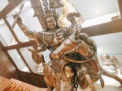 藏族格薩爾王銅像小圖
