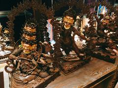 藏傳佛教護法像(小圖)